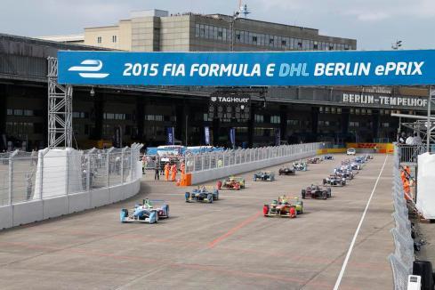 Rennen Berlin 2015 (c) Adam Warner/LAT/Formula E
