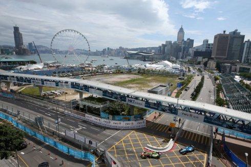 FIA Formula E, race 1 Hongkong(c)Audi