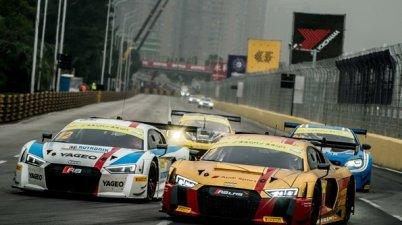 FIA GT World Cup 2017,Robin Frijns und Fabian Plentz,Audic)Audi