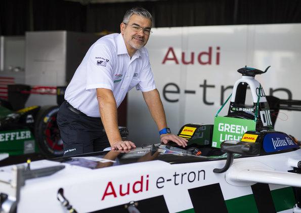 Motorsportchef Dieter Gass,Formula E, Hong Kong E Prix 2017c)Audi