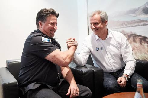 Andretti und Marquardt (c)BMW