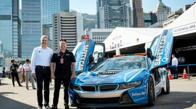 BMW Motorsport-Direktor Marquardt mit Michael Andretti (c)BMW