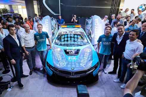 Qualcomm BMW Safety car (c)BMW