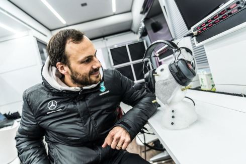 Gary Paffet,2018 Test 1 Vallelunga(c)Mercedes