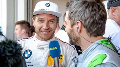 Timo Scheider, BMW, interviewed von Timo Glock (c)BMW