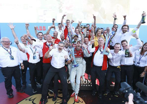 Daniel Abt, Lucas di Grassi,Formula E, Berlin E-Prix 2018 (c)Audi