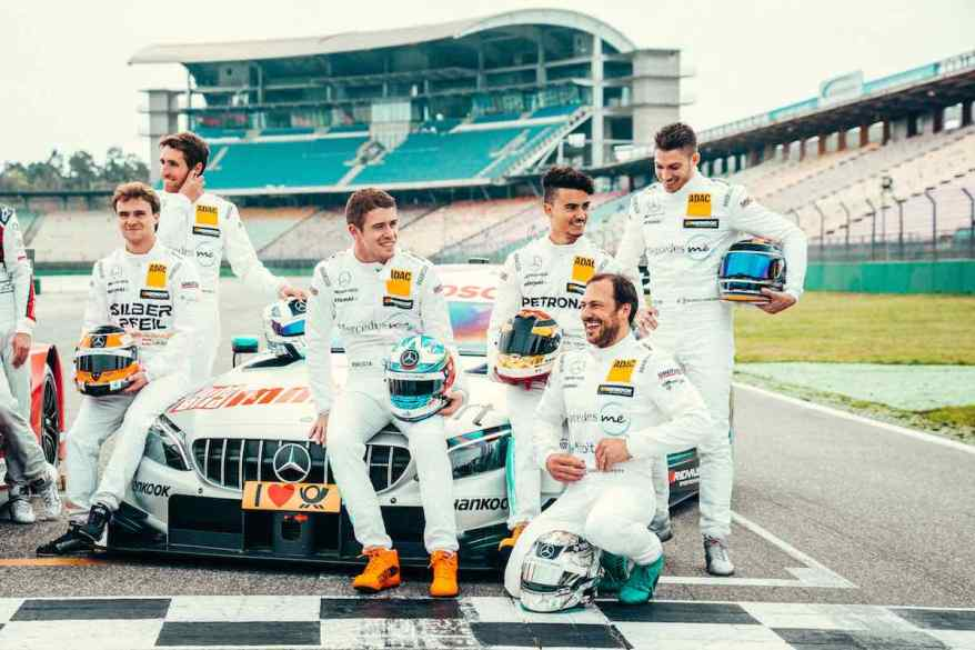 DTM Test 2/2018, Hockenheim - Sebastian Kawka (c)Mercedes