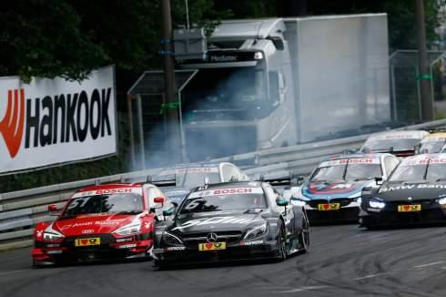 Motorsports: DTM race in Nürnberg (c)Hankook