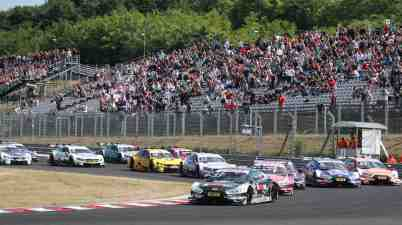 Motorsports: DTM race Budapest (c)DTM