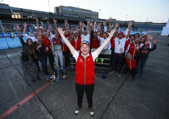 Allan McNish, Audi Sport ABT Schaeffler,Formula E, Berlin E-Prix 2018 (c)Audi