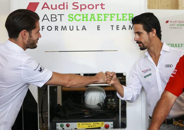 Audi-Piloten Daniel Abt und Lucas di Grassi (c)Audi