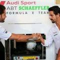 Daniel Abt, Lucas di Grassi,Formula E, Zuerich E-Prix 2018(c)Audi
