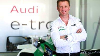 Allan McNish,Formula E Test Valencia (c)AUDI