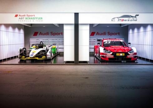 Audi e-tron FE05, Audi RS 5 DTM (c)Audi