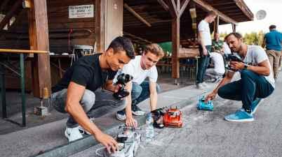 Fitnesscamp Schladming(c)Mercedes,Stephen Reuß