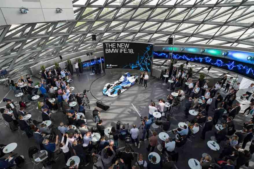 BMW iFE.18 in München (c)BMW