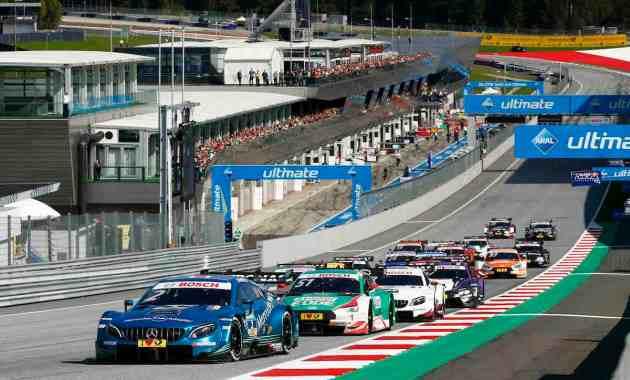 Start Race 2,DTM Spielberg 2018 @DTM