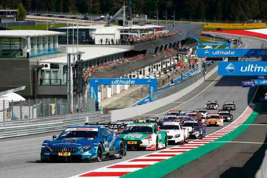 Start Race 2,DTM Spielberg 2018 (c)DTM