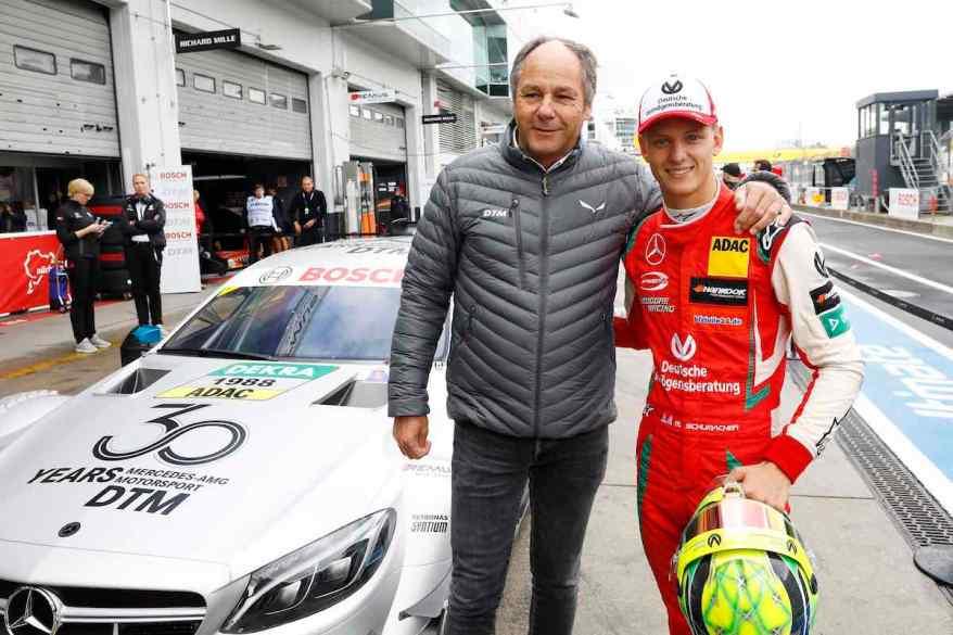 Mick Schumacher Demonstration Laps Mercedes-AMG C 63 DTM,DTM Nuerburgring 2018 (c)DTM
