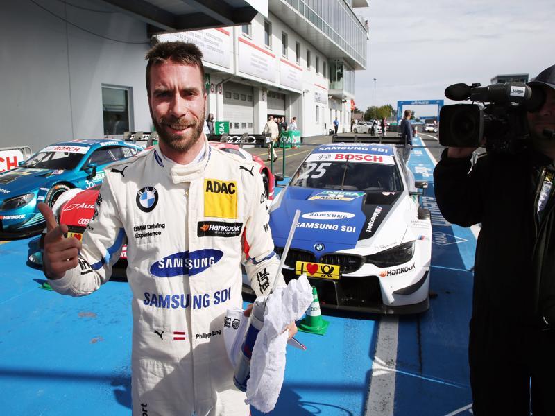 Nürburgring (GER) 09th September2018. BMW M Motorsport, 3rd Place Driver in Qualifiyng Philipp Eng (AUT) SAMSUNG BMW M4 DTM (c)BMW
