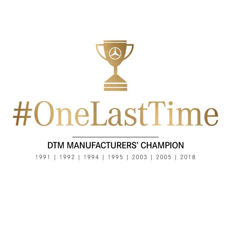 2018 Spielberg - #OneLastTime Herstellermeister - Quadrat - Sebastian Kawka (c)Mercedes Herstellermeister - Quadrat