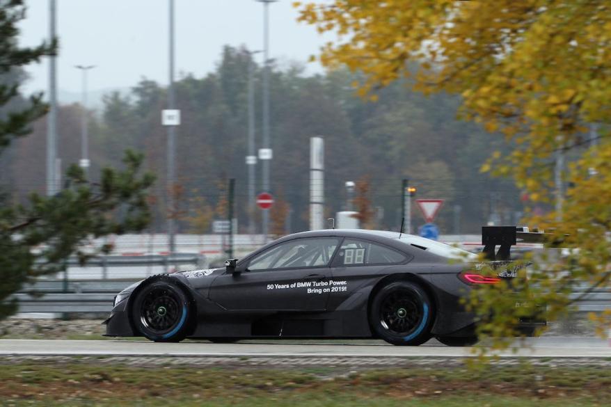 Dingolfing (GER) 27th October 2018. BMW M Motorsport, Bruno Spengler (CAN) BMW M4 DTM Roll out(c)BMW