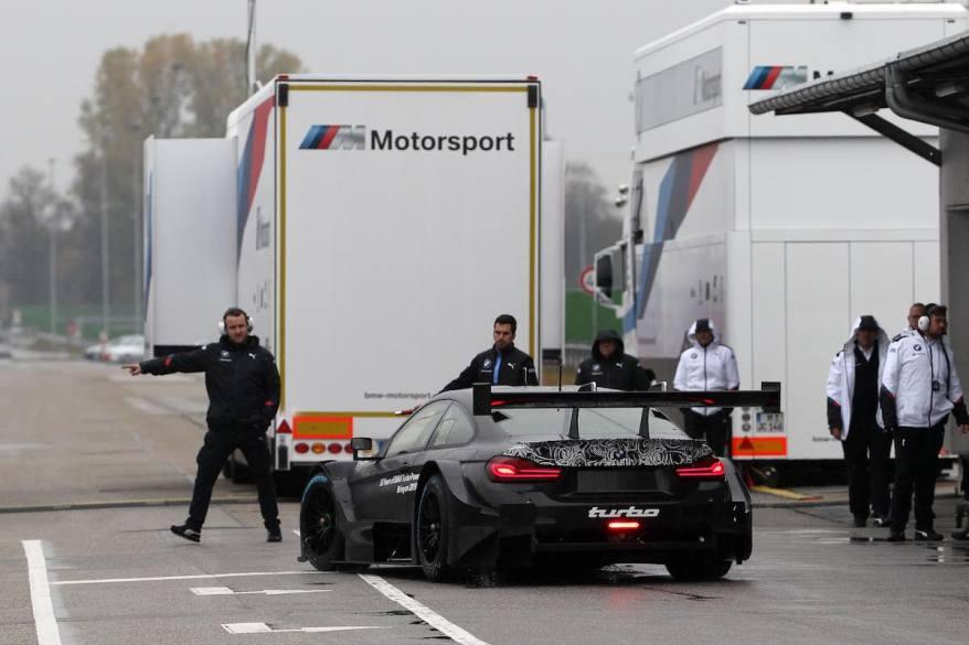 Dingolfing (GER) 27th October 2018. BMW M Motorsport, Bruno Spengler (CAN) BMW M4 DTM Roll out. (c)BMW