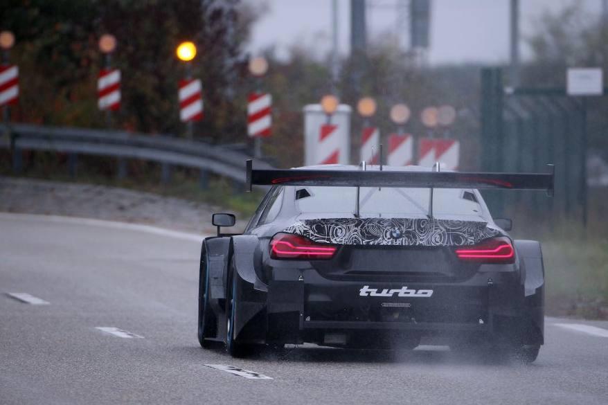 BMW M4 DTM,Dingolfing (GER) 27th October 2018. BMW M Motorsport, Bruno Spengler (CAN) BMW M4 DTM Roll out. (c)BMW