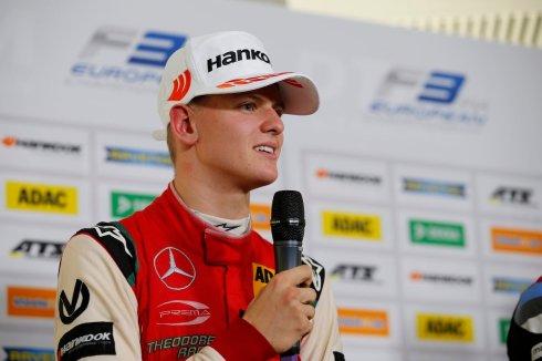 FIA Formula 3 European Championship 2018, round 10, race 2, Hockenheim (DEU) (c)Hankook