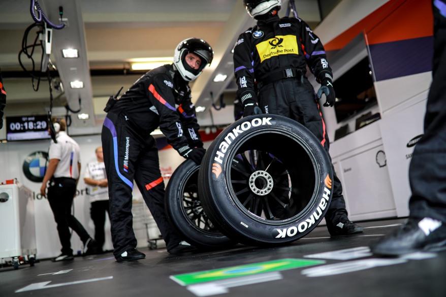 Motorsports: DTM race Hockenheimring (c)Hankook