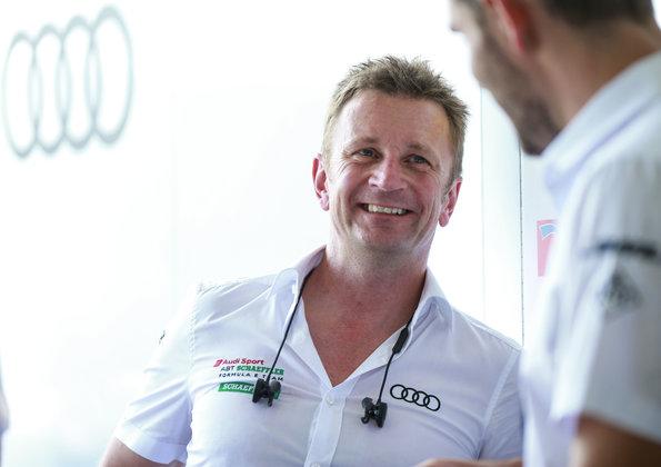 Allan McNish,Formula E, New York E-Prix 2018 (c)Audi