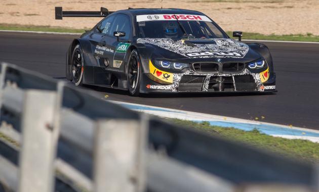BMW M4 DTM mit Marco Wittmann (c)BMW
