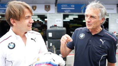 Farfus and Lamm (c)BMW