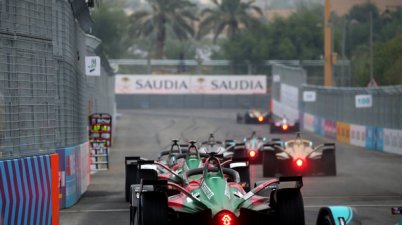 Audi e-tron FE05 #11 (Audi Sport ABT Schaeffler), Lucas di Grassi,Formula E, Ad Diriyah E-Prix 2018 (c)Audi