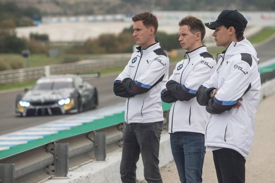 Jerez (E) 10. Dezember 2018. BMW M Motorsport, Young Driver Testing (c)BMW