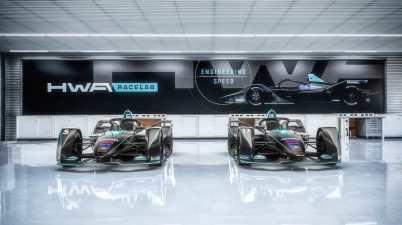 HWA Racelab vor Premiere Formel E (c)HWA