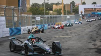 5 VANDOORNE Stoffel (bel), Venturi VFE05 team HWA Racelab, action during the 2019 Formula E championship, at Riyad, Saudi Arabia, from december 13 to 15, 2018 (c),HWA, Jean Michel Le Meur