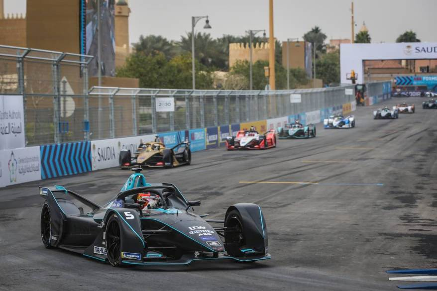 5 VANDOORNE Stoffel (bel), Venturi VFE05 team HWA Racelab, action during the 2019 Formula E championship, at Riyad, Saudi Arabia, from december 13 to 15, 2018 (c),HWA, Jean Michel Le Meur