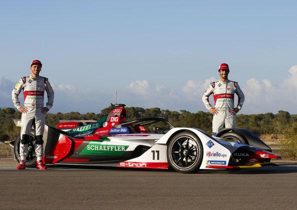 Daniel Abt, Lucas di Grassi,Formula E, Mallorca Test (c)Audi