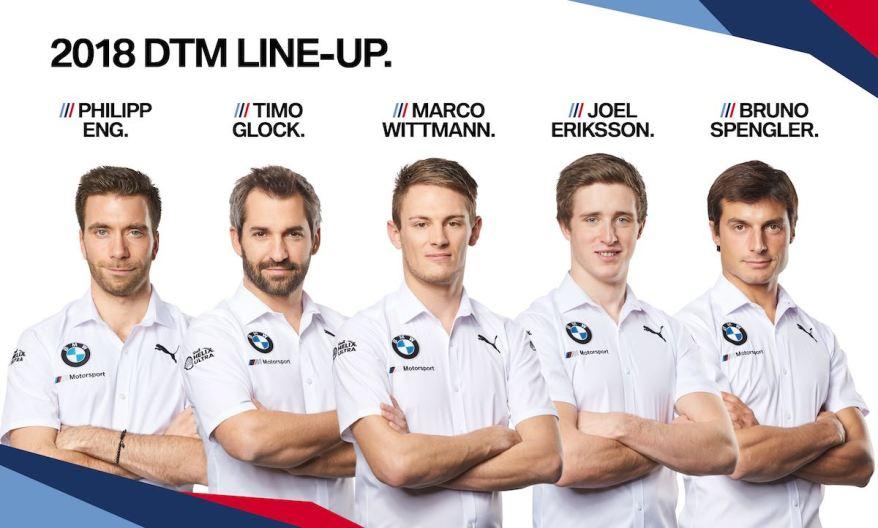BMW DTM_Line_Up (c)BMW