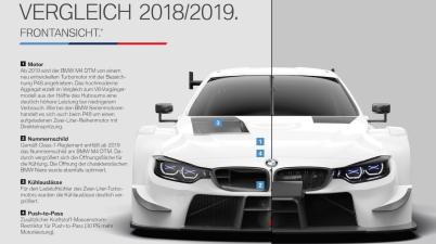 bmw m4 dtm 2019 (c)BMW