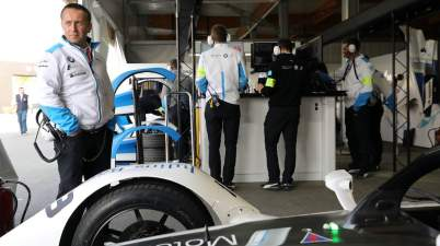 Ad Diriyah (KSA), 16th December 2018. ABB FIA Formula E Championship, Formula E Testing, BMW i Andretti Motorsport, BMW i Motorsport, Roger Griffiths (GBR, Team Principal) (c)BMW