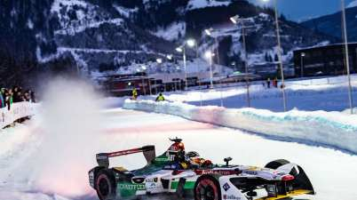 Audi e-tron FE04 #66 (Audi Sport ABT Schaeffler), Daniel Abt,GP Ice Race 2019, Zell am See (c)Audi