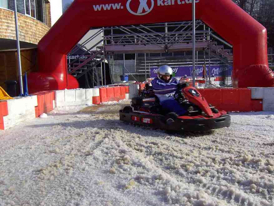 Kart Racing im Schnee (c)GP Ice race