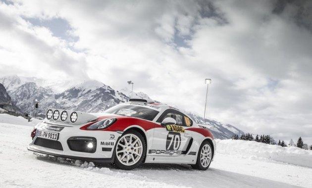 porsche cayman gt4 rallye (c)Porsche