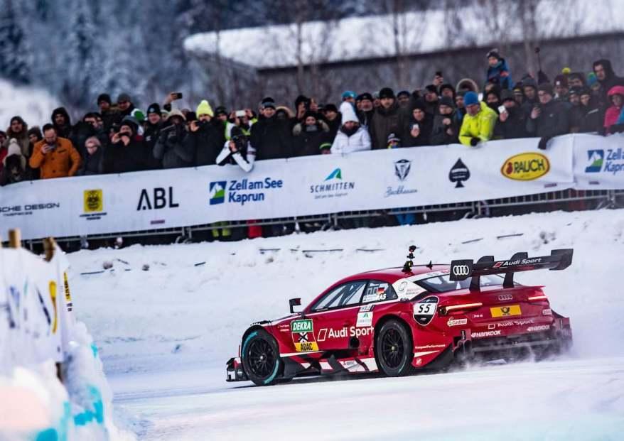 Audi Sport RS 5 DTM #33 (Audi Sport Team Rosberg), René Rast,GP Ice Race 2019, Zell am See (c)Audi