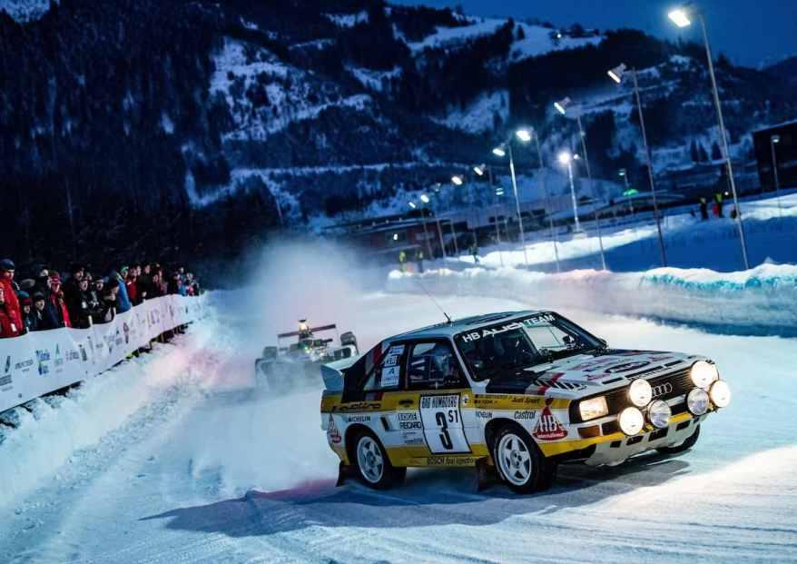 Audi Sport quattro mit Walter Röhrl,GP Ice Race 2019, Zell am See (c)Audi