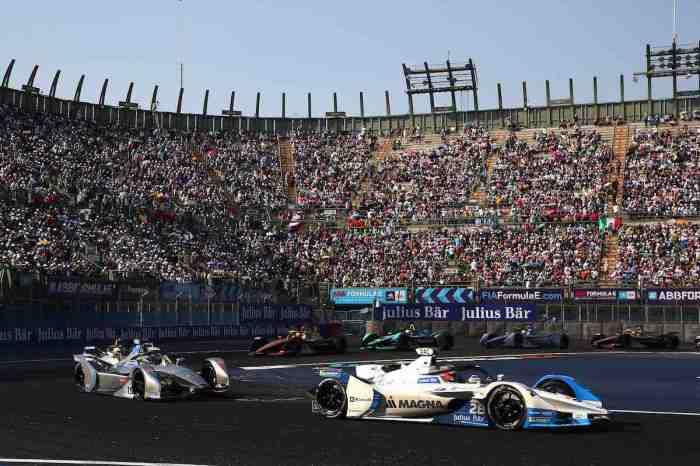 Mexico City (MEX), 16th February 2019. ABB FIA Formula E Championship, Mexico City E-Prix, BMW i Andretti Motorsport, Antonio Felix da Costa BMW iFE.18 #28 (c)BMW
