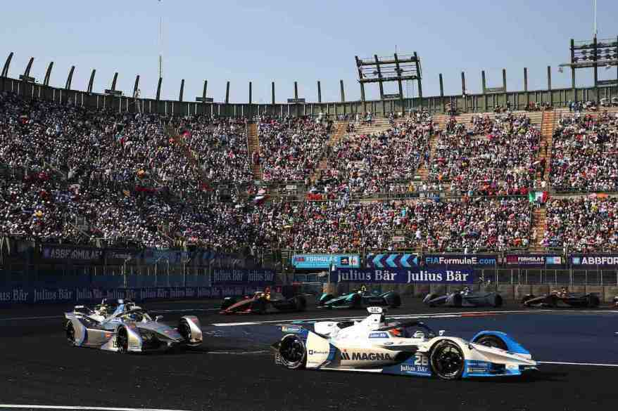 Mexico City (MEX), 16th February 2019. ABB FIA Formula E Championship, Mexico City E-Prix, BMW i Andretti Motorsport, Antonio Felix da Costa BMW iFE.18 #28 (c)BMW