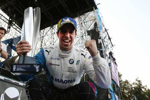Mexico City (MEX), 16th February 2019. ABB FIA Formula E Championship, Mexico City E-Prix, BMW i Andretti Motorsport, 2nd Place Driver Antonio Felix da Costa (c)BMW